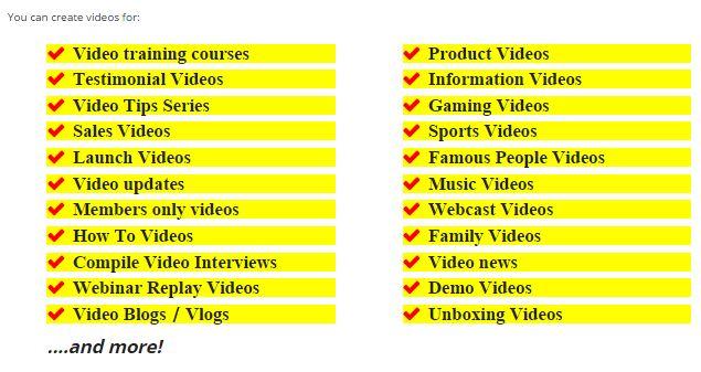 Createvideosfor