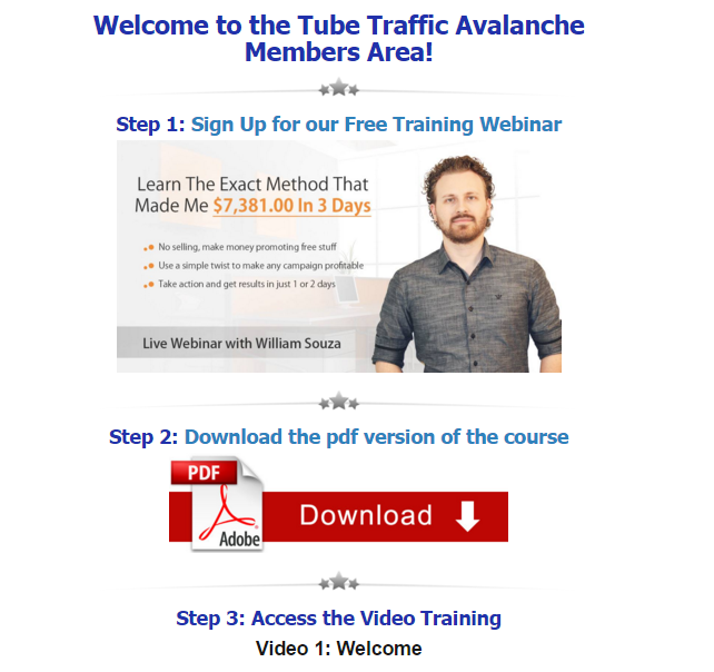 Tube Traffic Avalanche Review - The Wolf Of Online Marketing