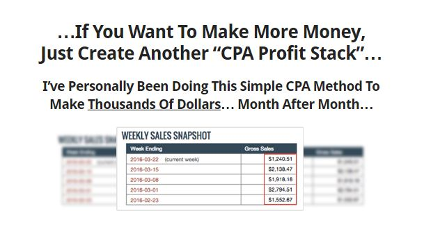 CPA Profit Stacks Review