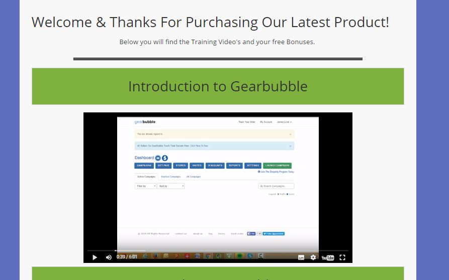Geared For Profits Review