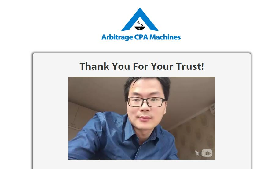 Arbitrage CPA Machines Review ($2k/Day Challenge!)