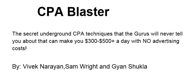 CPA Blaster Review