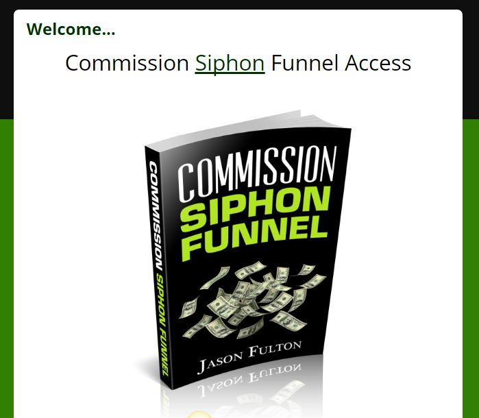 Commission Siphon Funnel Review