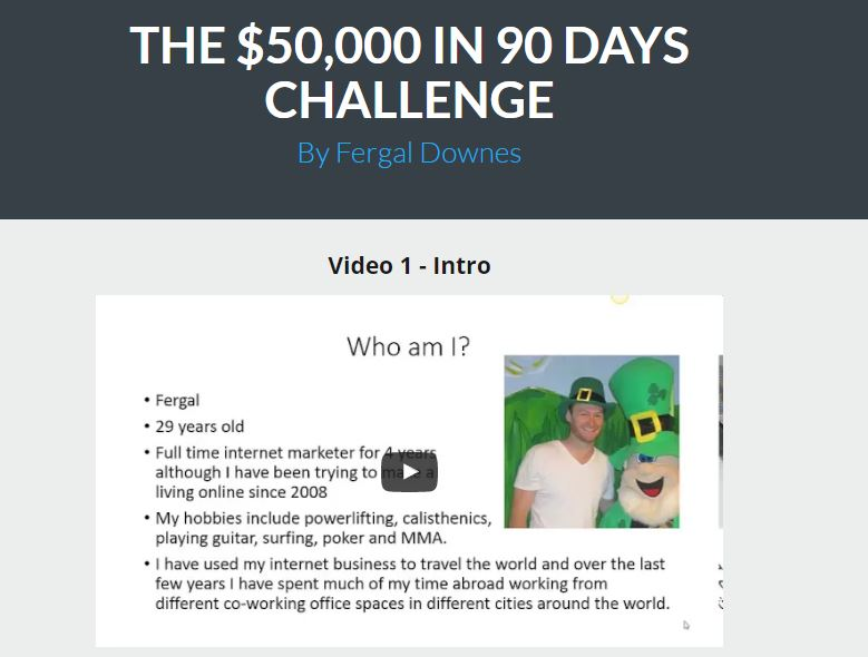 The $50k in 90 Days Challenge Review