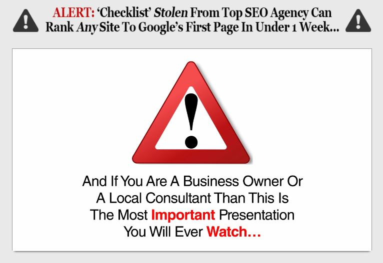 2017 Local SEO Checklist Review