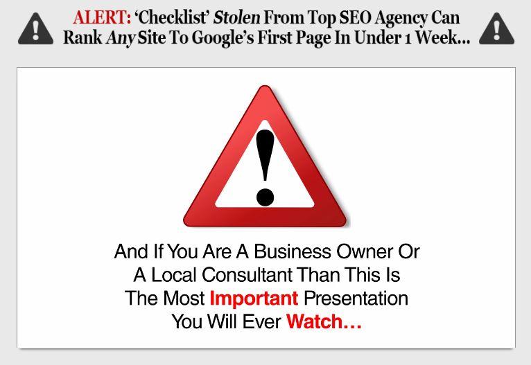 2017 Local SEO Checklist Review