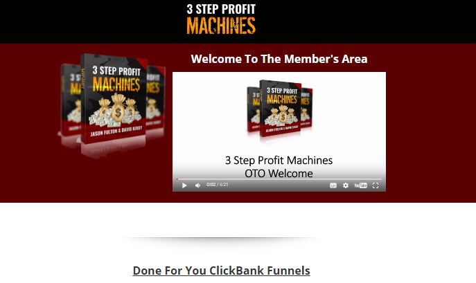 3 Step Profit Machines Review