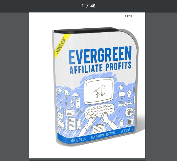 Evergreen Affiliate Profits Review and Bonus