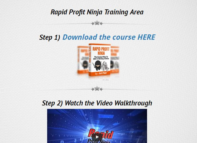 Rapid Profit Ninja Review and Bonuses