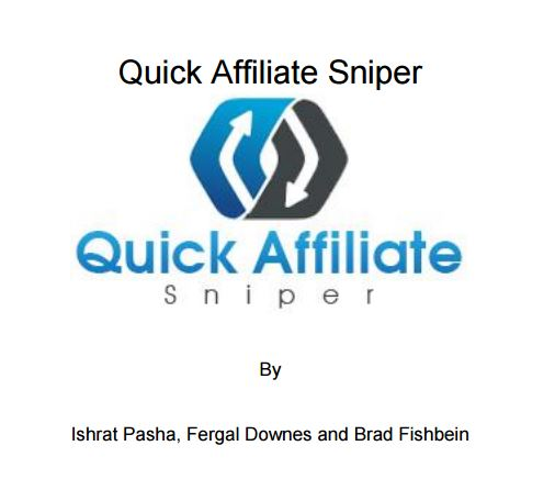 Quick Affiliate Sniper Review