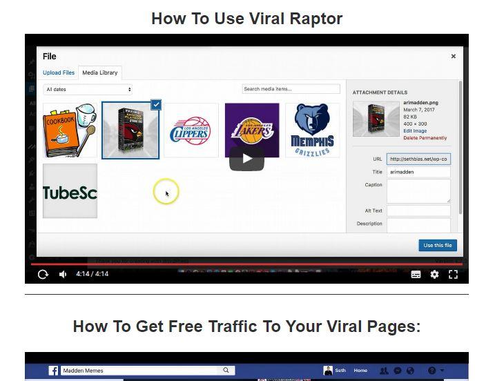 ViralRaptor Review