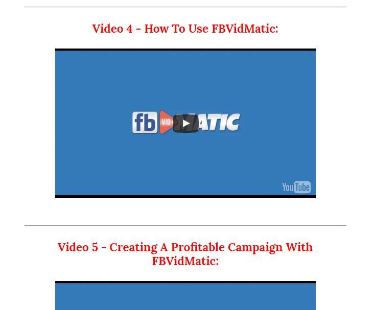 FB Vidmatic Pro Review