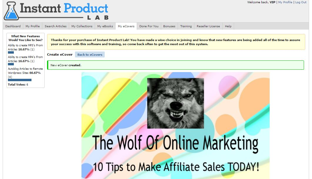 Instant product lab review the wolf of online marketing instant product lab review fandeluxe Image collections