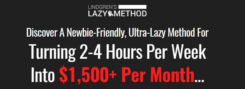 Lindgrens Lazy Method Review