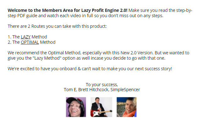 Lazy Profit Engine 2.0 Review