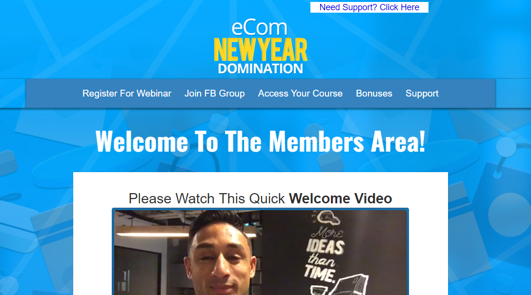 eCom NEW YEAR Domination Review