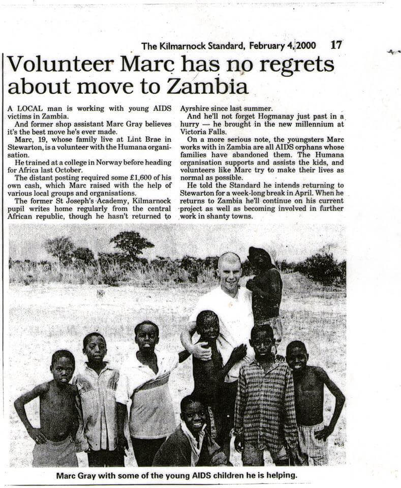Marc In Africa News Paper