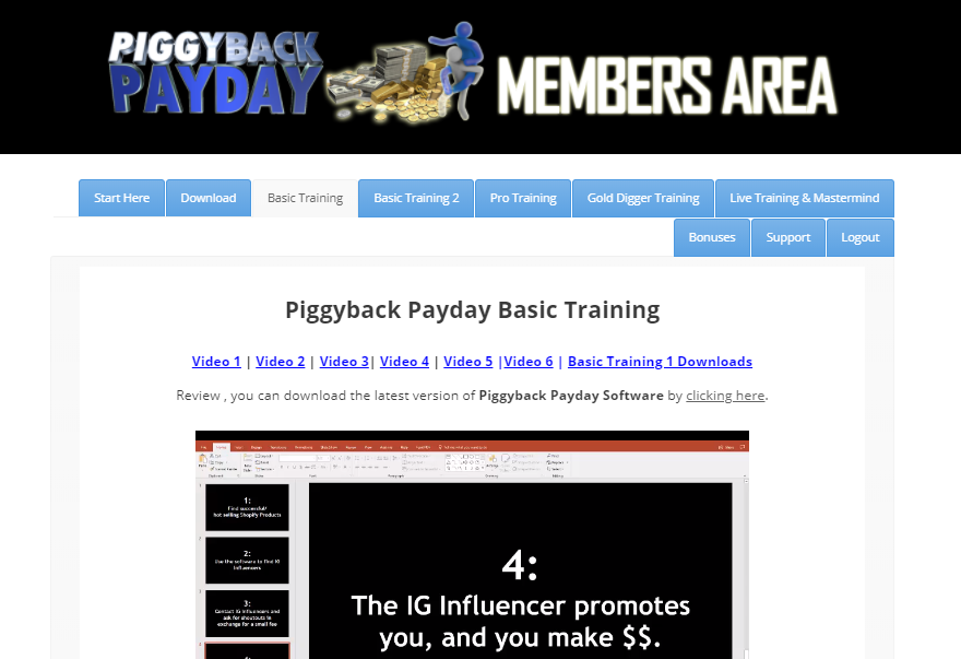 Piggyback Payday Review