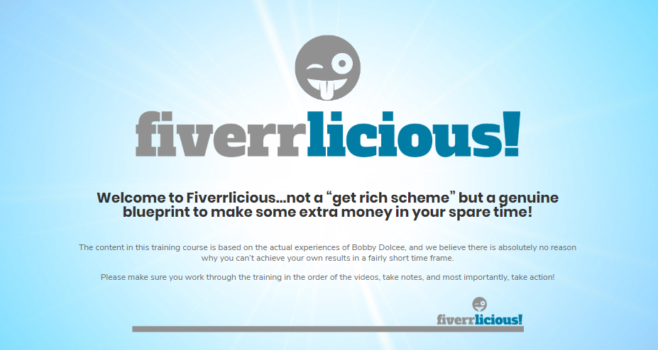 Fiverrlicious Review