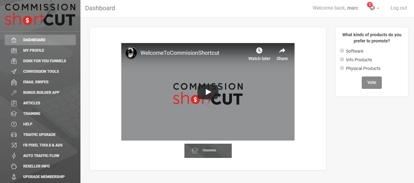Commission Shortcut Review The Wolf Of Online Marketing