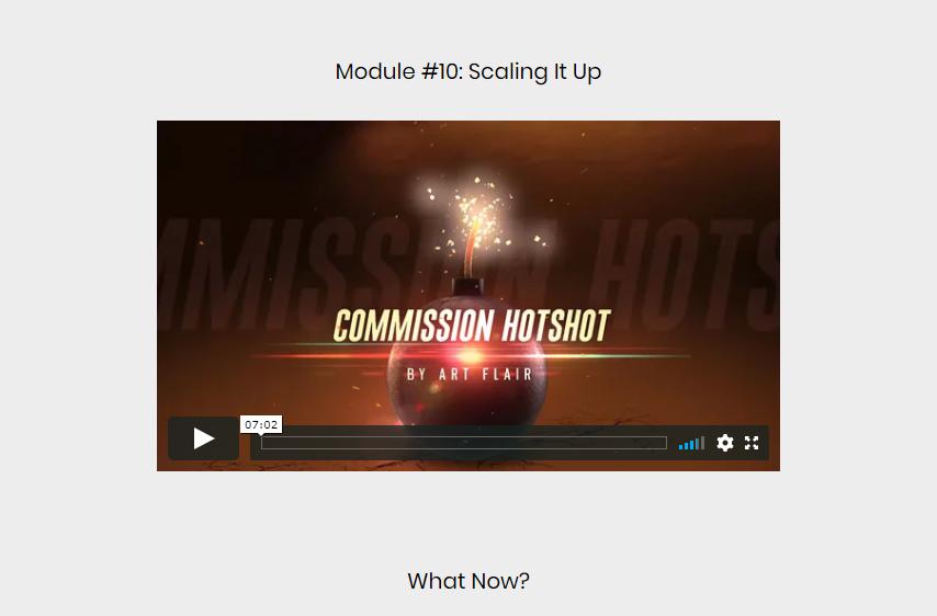Commission Hotshot Review
