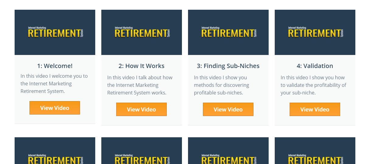 Internet Retirement APP Review